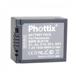 Phottix Li-on Batterie Rechargeable DMW-BLB13E pour Panasonic