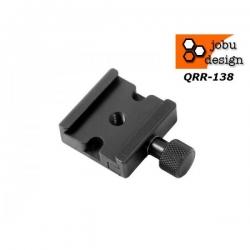 Jobu Design Quick Release Etau QRR-138 type Arca-Swiss Montage Pas de vis 3/8