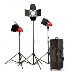 Nicefoto RedHead kit 3x 800W Mandarine with dimmer DGR-800