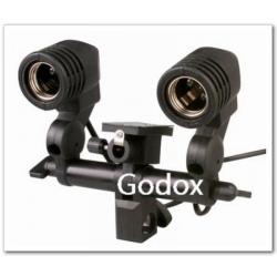 Godox Socket AC Slave LH-02 type E27 pour 2 flashes