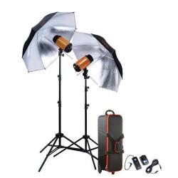 Godox Flash Kit Mini Pioneer 300SDiEB  2x300W + Acc.