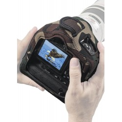 Lenscoat BodyGuard Compact CB Anti-Bruit avec Grip ForestGreenCamo