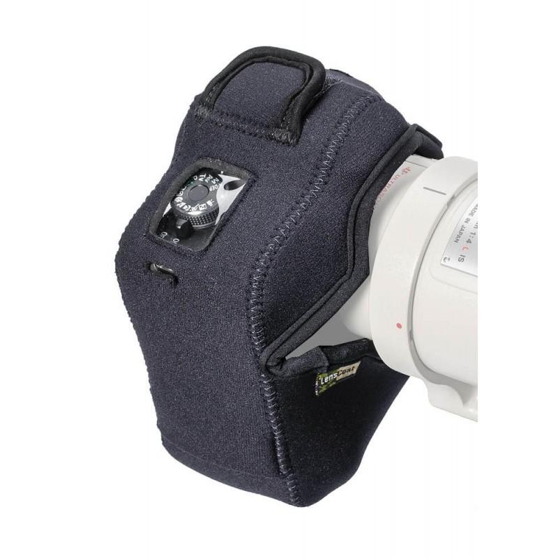 lenscoat bodyguard compact cb anti bruit avec grip black. Black Bedroom Furniture Sets. Home Design Ideas