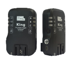 Pixel King pour Sony - TTL - Synchro 1/8000s - jusqu'à 100m