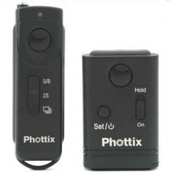 Phottix Cleon II Télécommande sans fil jusqu'à 100m N10 pour Nikon D90/D5000/D5100/D3100/D7000