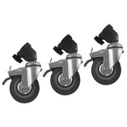 Quantuum Roulettes avec frein par 3