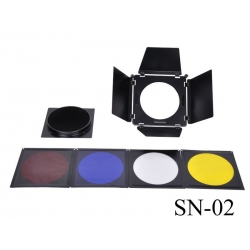 NiceFoto SN02 Barndoor kit 200mm