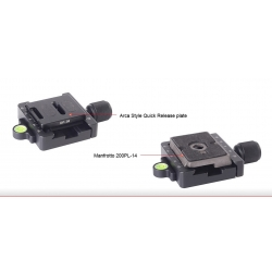 SUNWAYFOTO Manfrotto/Arca Compatible Clamp MAC-14