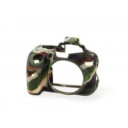 EasyCover Protection Silicone pour Nikon D5300 Militaire