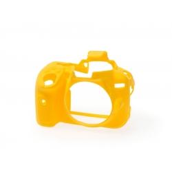 EasyCover Protection Silicone pour Nikon D5300 Jaune