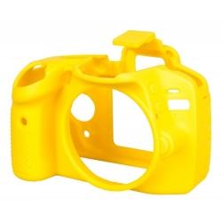 EasyCover Protection Silicone pour Nikon D3300/D3400 Jaune