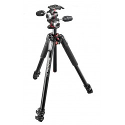 Manfrotto MK055XPRO3-3W alu 3-section horiz. column tripod + 3 way head
