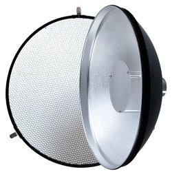 Beauty Dish with Grid