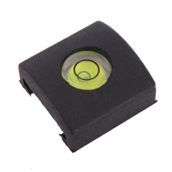 Spirit level hot shoe cover for Sony