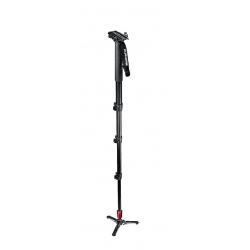 Manfrotto 562B-1 Fluid video aluminum monopod with plate