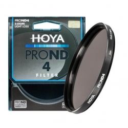 Hoya Filtre ND4 ProND 62mm