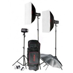 Godox Flash Kit Mini Pioneer 3x 160w