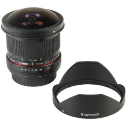 Samyang 8mm Fisheye f/3.5 MC CSII Sony
