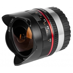 Samyang 8mm Fisheye f/2.8 Samsung NX Black