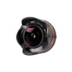 Samyang 7.5mm f/3.5 UMC Fish-eye MFT / M4/3 Black