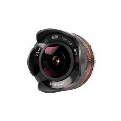 Samyang 7.5mm f/3.5 UMC Fish-eye MFT / M4/3 Black
