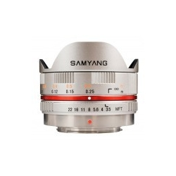 Samyang 7.5mm f/3.5 UMC Fish-eye MFT / M4/3 Silver