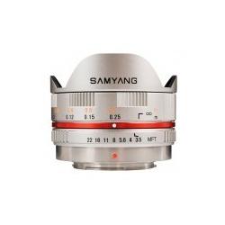 Samyang 7.5mm f/3.5 UMC Fish-eye MFT / M4/3 Silver