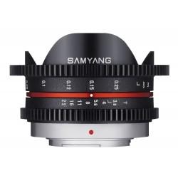 Samyang 7.5mm T3.8 UMC Fish-eye MFT / M4/3 Black
