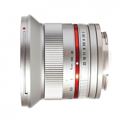 Samyang 12 mm f/2.0 NCS CS M4/3 Silver