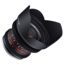 Samyang 12mm T2.2 NCS CS Fuji X Black