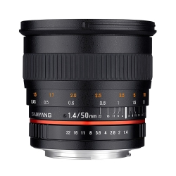 Samyang 50mm f/1.4 AS UMC Canon M