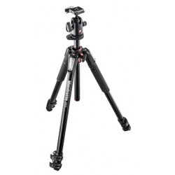 Manfrotto MK055XPRO3-BH Kit 055 - 3 sections aluminium + rotule ball