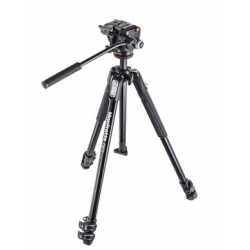 Manfrotto MK190X3-2W 190X kit - trepied alu 3 Sections + MHXPRO-2W Rotule fluide