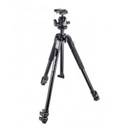 Manfrotto MK190X3-BH 190X kit - trepied alu 3 Sections + Rotule ball 496RC2