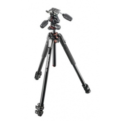 Manfrotto MK190XPRO3-3W Kit 190 - 3 sections aluminium + rotule 3D