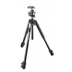 Manfrotto MK190XPRO3-BH KIT 190 TREPIED ALU 3 SECTIONS + ROTULE BALL