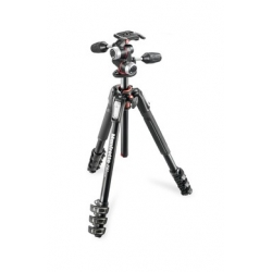 Manfrotto MK190XPRO4-3W Kit 190 - 4 sections aluminium + rotule 3D