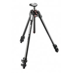 Manfrotto MT190CXPRO3 TREPIED 190 FIBRE CARBONE 3 SECTIONS / BASCULE COLONNE