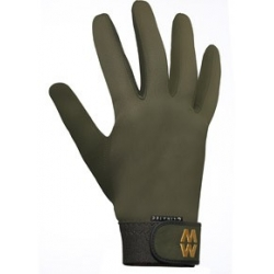 MacWet Long Climatec Sports Gloves Green size 9cm